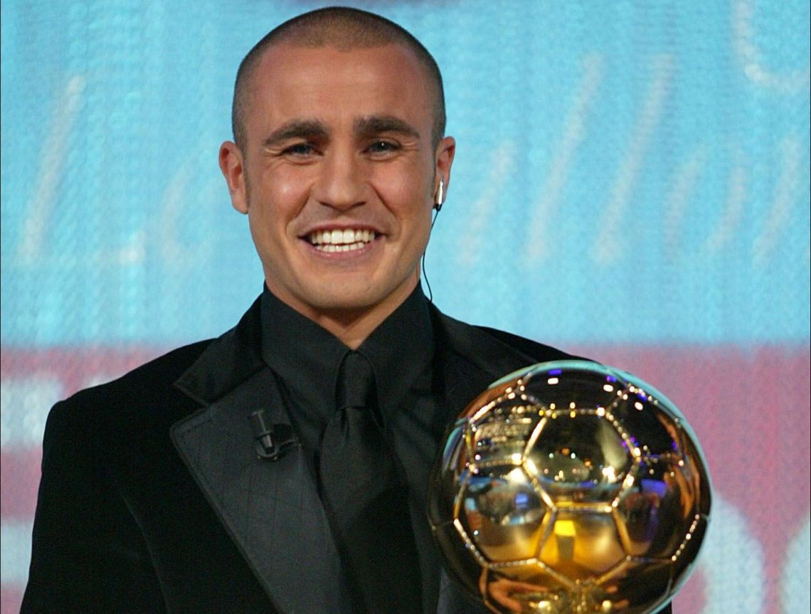 Fabio Cannavaro (ita) - Remise Ballon d Or France Football -